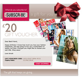 iSubscribe £20 Voucher